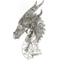 Dragon unfinished by Kahiah