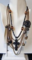 Victorian mourning necklace by bchurch
