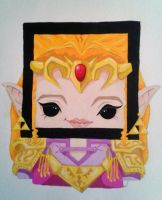 Princess Zelda by Squaracters