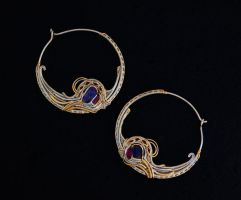 Lakshmi Hoops by nonomie