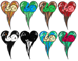 CHEAP Heart-Pony Adopts by Squid-Dragon-Games