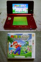 Playing Golf All Around The World With Mario by shnoogums5060