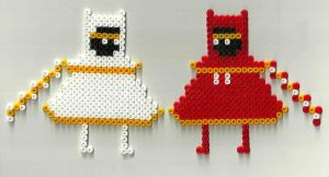 Journey - Perler Beads by omatsuri-ven