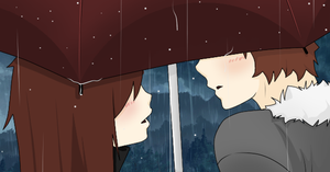 Kiss me in the Rain by ShinaOku