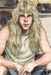 a young James Hetfield by Gritti