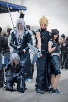 Final Fantasy VII Group by Tifa-Cosplay