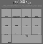 Equine Breed Meme - empty by Lilafly