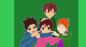 me and eddsworld!!!!! by Unseen1026
