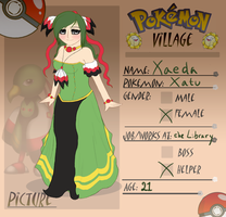 Poke-Village Application - Xaeda by Memiz