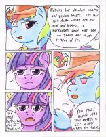Fluttershy and the Rainbow Factory P. 26 by The1King