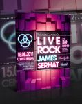 Liverock Flyer Template -PSD- by retinathemes