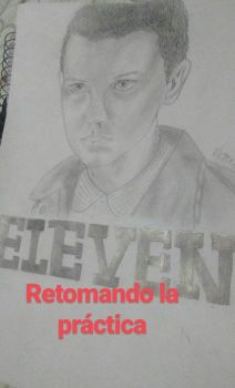 Eleven. Stranger Things by Therunawayshadow