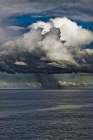 Storm at sea by BeauNestor