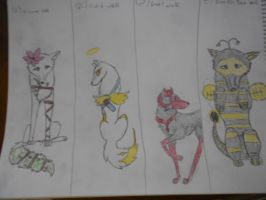 Adopts(5 points each) by Alora18