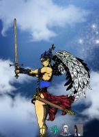 Angelic Warrior by CDL113