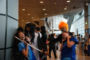 Ichigo killing NDP performers by Acedemond