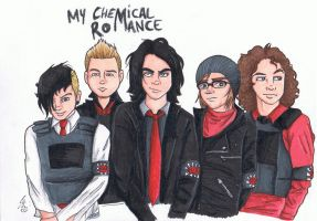 My Chemical Romance by chaixing