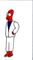 Young Zoidberg Business Card Sest by SickSean