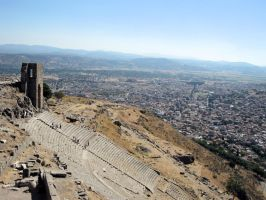 Theater of Pergamon by Cirandel