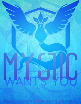 Team Mystic Poster by colebotman