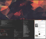 [arch] [bspwm] october 2015 by transienceband