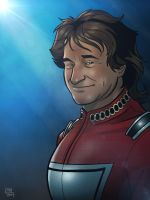 Robin Williams Tribute by Kenpudiosaki