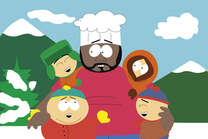 South Park -One more time with Chef by DarkraDx