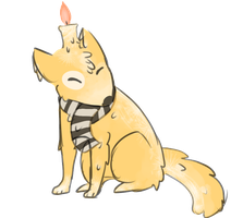 Candle Canine Adopt :Sugar Cookie CLOSED by SquidPup