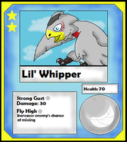 Lil' Whipper Card (Adopt) by Dianamond