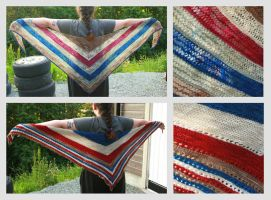 Stash Buster Shawls by KnitLizzy