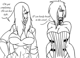 Tumblr - Celxia and Nexi Outfit Switch by EmpressOfDestruction