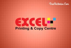 Excel Printing and Copy Centre (Vector) by zestladesign