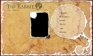 The night of the rabbit OC sheet by Lady-Scissors