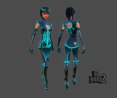 DJHero2 Circuit Dancer by dkubina
