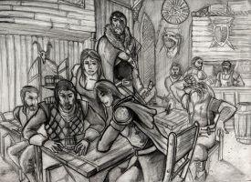 The Tavern in Andai by royalsmiley