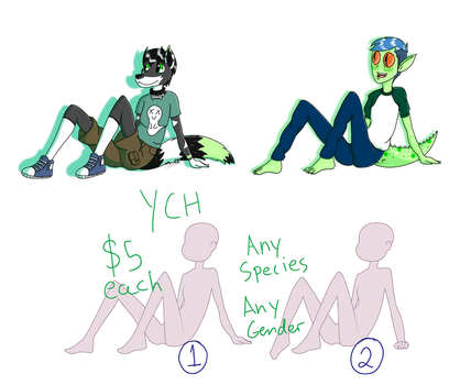 Cookie Cutter YCH :OPEN: by gjavavont