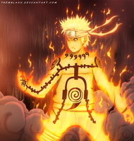 Naruto sage of the six paths by Tremblax