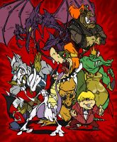 Nintendo Villains - 2009 by BrendanCorris