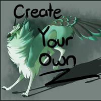 Create Your Own Galos Dragon by GlitchedBat