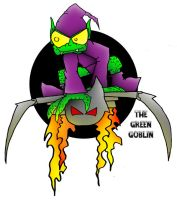 lil' Green Goblin by 5chmee