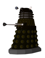 Dalek Sec Render Pack by cgartiste