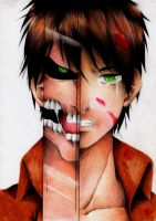 Eren Jaeger by 0Nephertari0