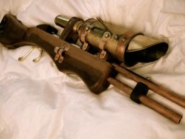 Steampunk Sniper Rifle 6 by steampunk22