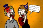 Party Hats for Chet by DirectorBen92
