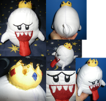 King Boo Plushie by Dead-Beliefs