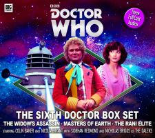 The Sixth Doctor Box Set Cover by Cotterill23