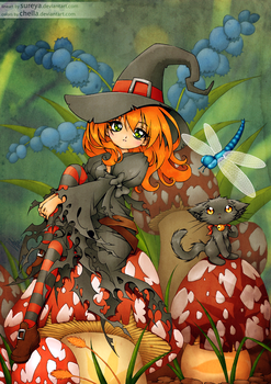 Halloween Collab by Cheila