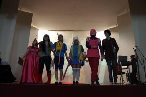 Adventure time cosplay performance. by Sarasacop