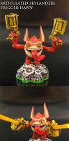 Skylanders Trigger Happy by Jin-Saotome