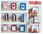Fairytail Miniature Books by lilchibichan